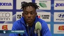 Après HAC - Valenciennes (4-3), réaction de Tino Kadewere