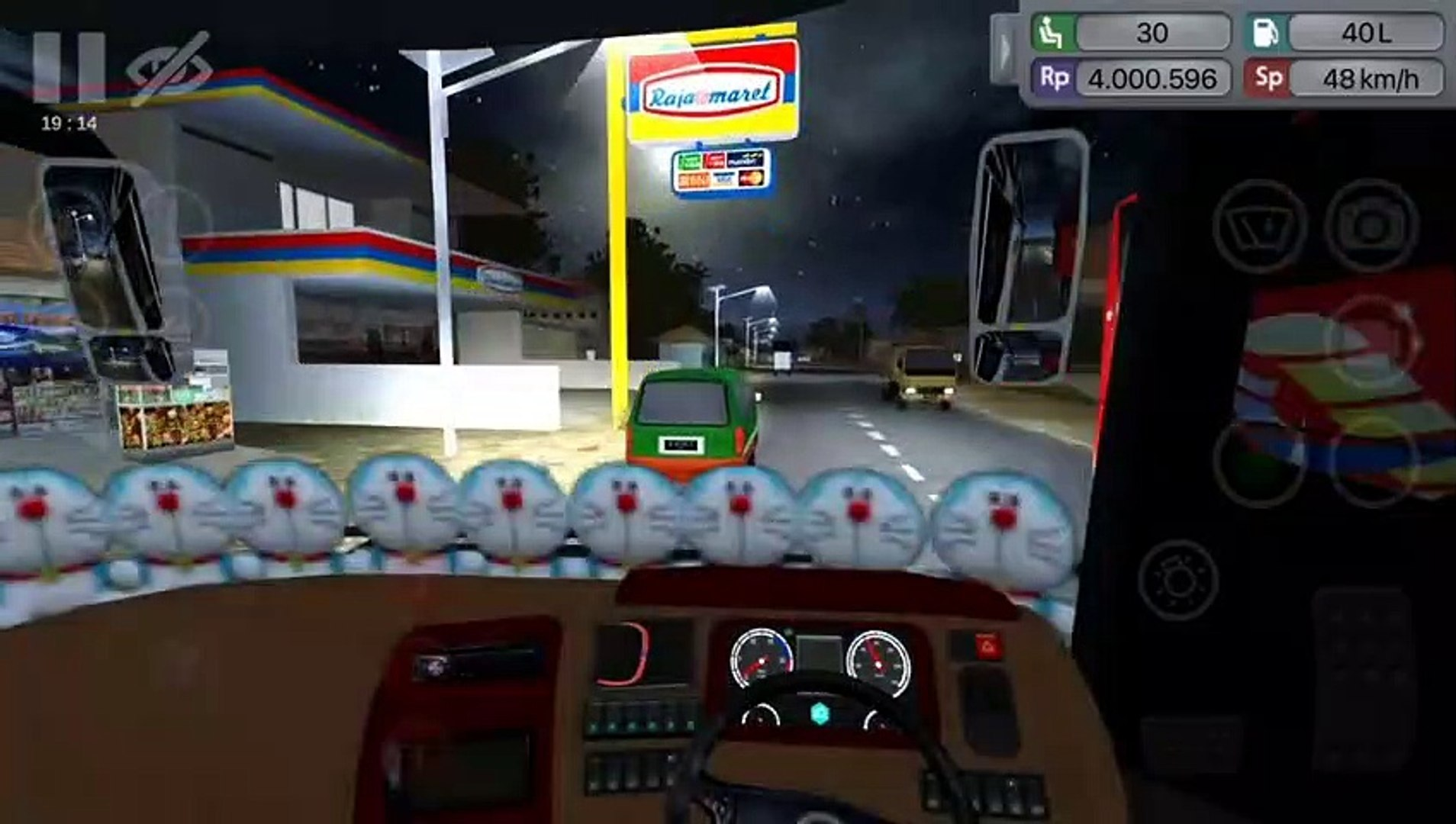 Mod apkmod money bus simulator Indonesia, livery skin xhdhd