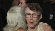 Watch Lady Gaga Adorably Meet Rachel Bloom's Mom! (Exclusive)