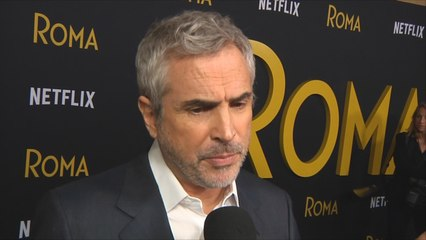 Cuarón recibe apoyos con miras a los Oscars