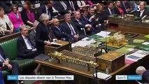 Brexit : l'accord avec l'UE massivement rejeté par le Royaume-Uni