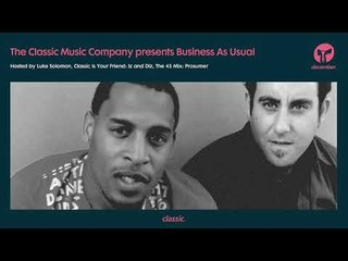 Business As Usual December 2018: Luke Solomon + Special Guest Prosumer