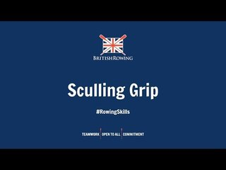 Rowing skills: Sculling Grip