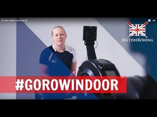 Go Row Indoor workout #3 - The advanced workout
