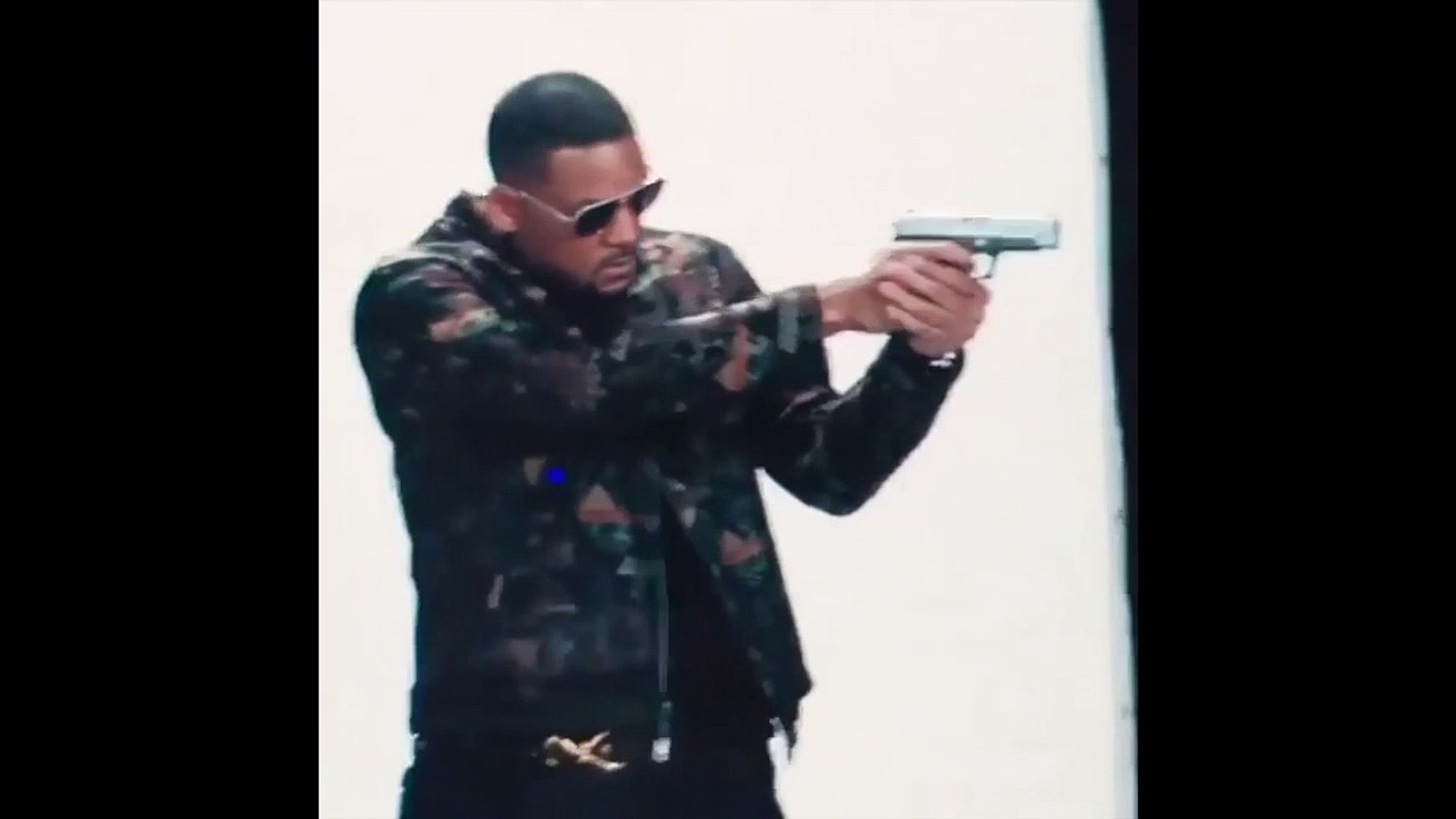 BAD BOYS FOR LIFE - first footage of Will Smith on set - BAD BOYS 3