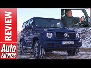 New Mercedes G 350d 2019 review - is this the BEST G-Wagen?
