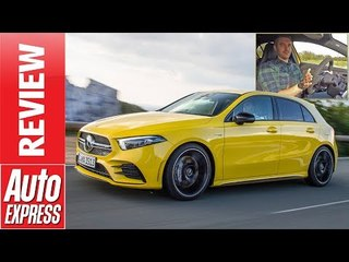 New Mercedes-AMG A35 review - 300bhp hot hatch squares up to the VW Golf R