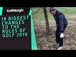 NEW Golf Rules 2019 - 19 Biggest Changes