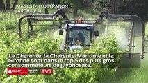 La Charente, Charente Maritime, sont dans le top 5 des plus grands consommateurs de glyphosate