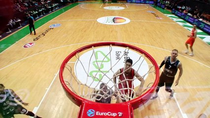 7Days EuroCup Highlights Top 16, Round 3: UNICS 105-70 Cedevita