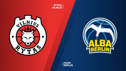 7Days EuroCup Highlights Top 16, Round 3: Rytas 86-94 ALBA