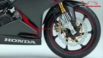 2019 Honda CBR250RR New Color Black Red Version | New Honda CBR250RR Version 2019 | Mich Motorcycle