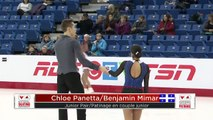 #CNPCT19: Patinage en couple juniors libre