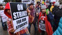 Negotiations Resume As Los Angeles Teachers' Strike Enters Fourth Day