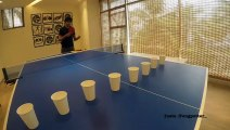 Au beer pong, ce mec vous éclate ! Meilleurs coups de ping pong !
