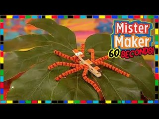 Washing Peg Bug  ️ - HOW TO MAKE IN 60 SECONDS | Mister Maker