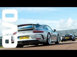 Porsche 911 GT3 v McLaren 570S Track Pack - DEADLY RIVALS