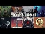 Jon's Best 15 Albums of 2018!   Metal Reacts Only   MetalSucks