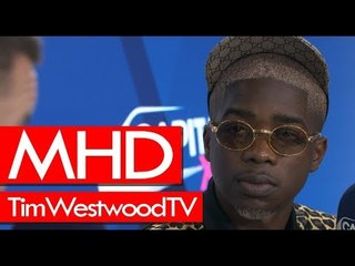 MHD on AFRO TRAP, XIX, Wizkid & Burna Boy, London show, films - Westwood