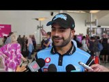 Rashid Khan spoke to media after the Adelaide Strikers arrived back from Perth today