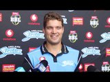 Adelaide Strikers Alex Carey spoke to media today ahead of the club's New Year's Eve match