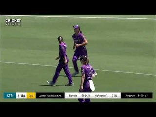 Adelaide Strikers v Hobart Hurricanes | WBBL Highlights