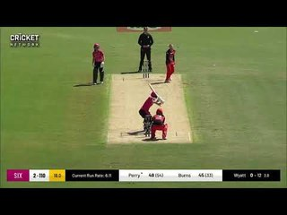 Erin Burns - Sydney Sixers innings v Renegades