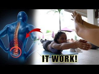 3 simple exercise to fix your back pain