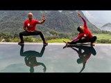 Wing Chun Tai Chi Training HANOI - PULUNG in Vietnam   Master Wong