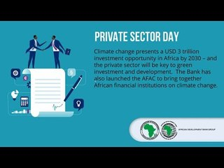 Greenpreneurs and ecoenterprises - climate resilient entrepreneurship and SME development