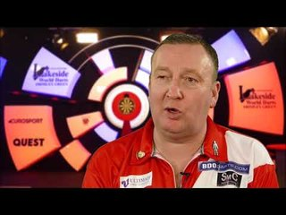 Glen Durrant on setting a new Lakeside World Championships record!