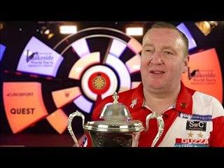 Glen Durrant REACTION to 3RD BDO World Championship Win | 7-3 Win over Scott Waites