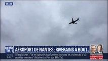 """""""Ça fait de plus en plus de bruit."""" Il vit à côté de l'aéroport de Nantes et s'insurge de l'explosion du trafic aérien"""