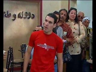 راجل وست ستات - مشهد كوميدي  عادل يقلد  الفنان محمد سعد في فيلم بوحة