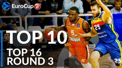7DAYS EuroCup Top 16 Round 3 Top 10 Plays
