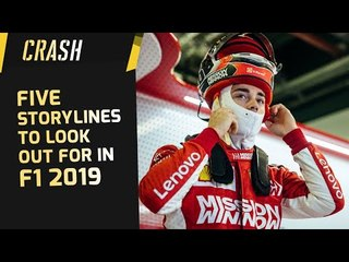 Five Storylines to look out for in F1 2019