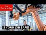 Is your job safe - collaboration, automation, annihilation?   The Economist