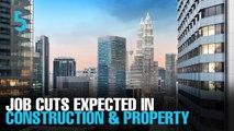 EVENING 5: Randstad sees job cuts in construction, property