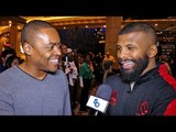 Badou Jack PREDICTION James DeGale vs Chris Eubank & talks Adonis Stevenson
