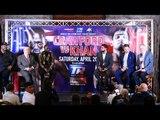 Terrence Crawford vs Amir Khan FULL PRESS CONFERENCE feat Bob Arum