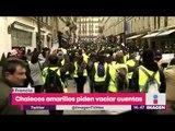 Chalecos amarillos piden vaciar cuentas bancarias para provocar caos en bancos | Noticias Yuriria