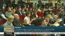 Rusia rechaza política injerencista de Estados Unidos contra Venezuela
