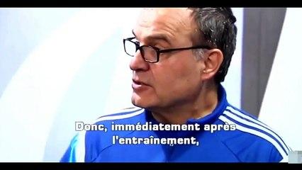 Bielsa le da clases a Zidane