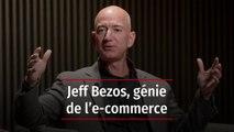 Jeff Bezos, patron d'Amazon et génie du e-commerce