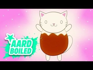 Advent Day 22 | Christmas Pudding Kitty | Mr Weebl's Advent Calendar 2018