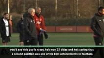 Finishing second with Man United was one of my greatest achievements - Mourinho