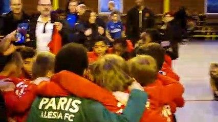 La victoire au tir au but en finale de l'équipe de PARIS ALESIA