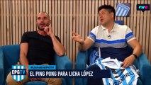 Coudet le dejó un mensaje a Licha López