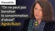 """""""On ne peut pas banaliser la consommation d'alcool"""" répond Agnès Buzyn à Didier Guillaume. """"Le vin fait partie de notre patrimoine, mais c'est la même molécule dans le vin que dans les autres alcools"""""""
