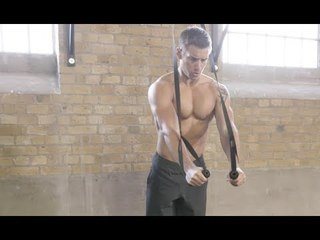 15-Minute TRX Home Workout | Build a Bigger Chest & Back